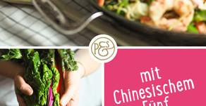 Asia-Pfanne mit Garnelen und P&S Chinesisches 5 Gewürz