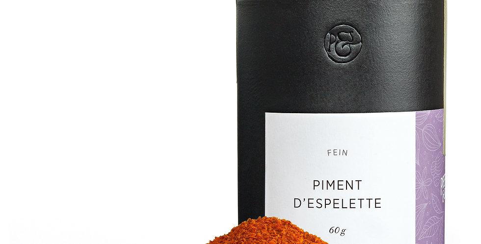 Piment d'Espelette Keramikdose