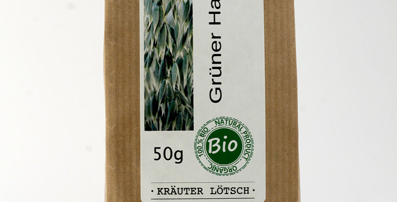 GRÜNER HAFERKRAUT TEE 50g