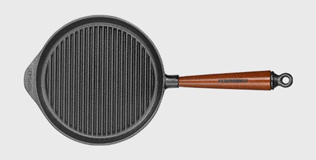 Grillpfanne Buche Ø 22cm, 25cm, 28cm