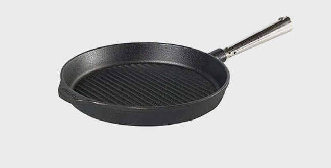 Grill Pfanne Professional  Ø 25cm, 28cm