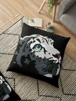 Redbubble tiger pillow