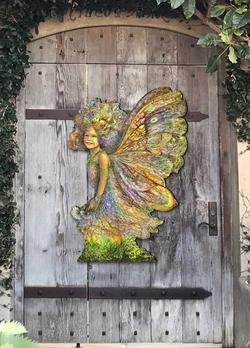 Fairy wall decor
