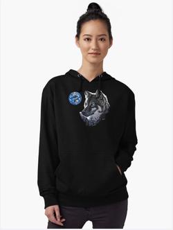 wolf sweatshirt female