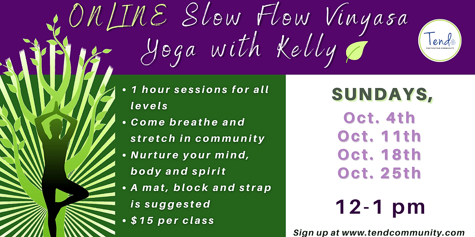 Slow Flow Yoga with Kelly