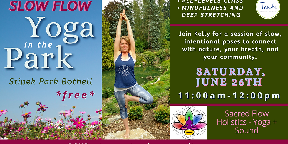 Slow Flow Yoga in the Park