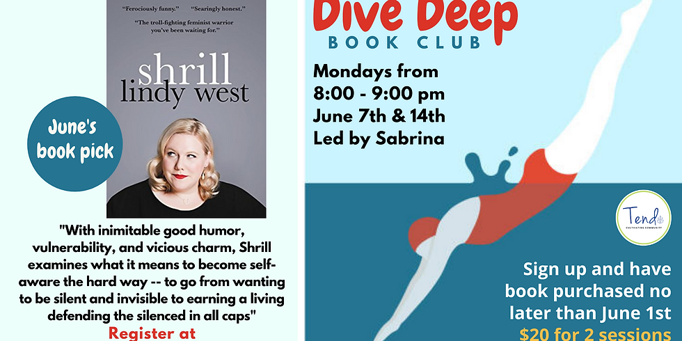 Deep Dive Book Club - June 7th & 14th