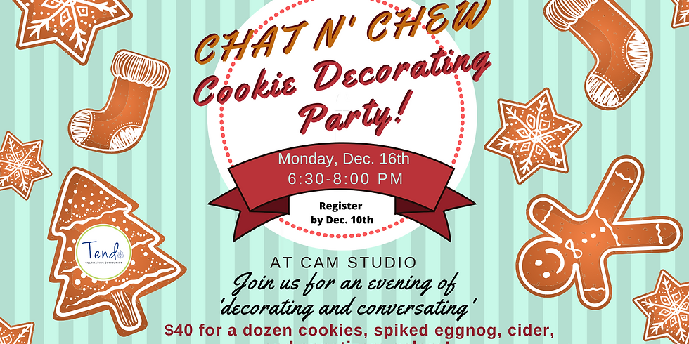 Chat n' Chew Cookie Decorating Party!