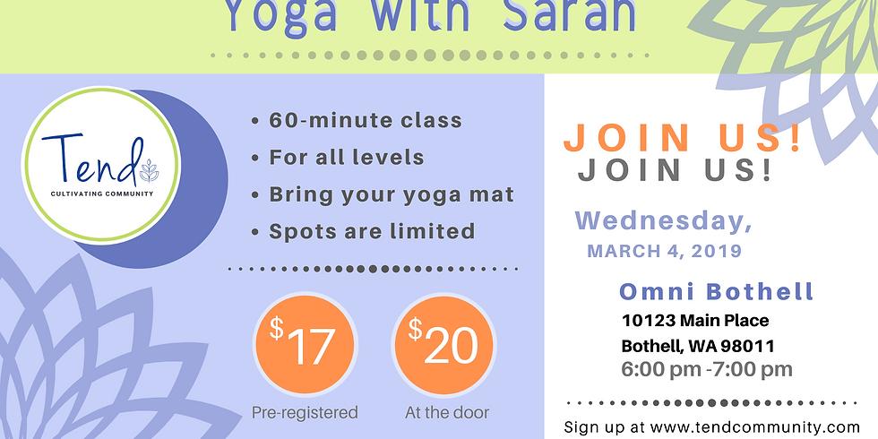 Restorative Yoga with Sarah