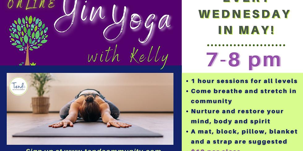 Yin Yoga with Kelly
