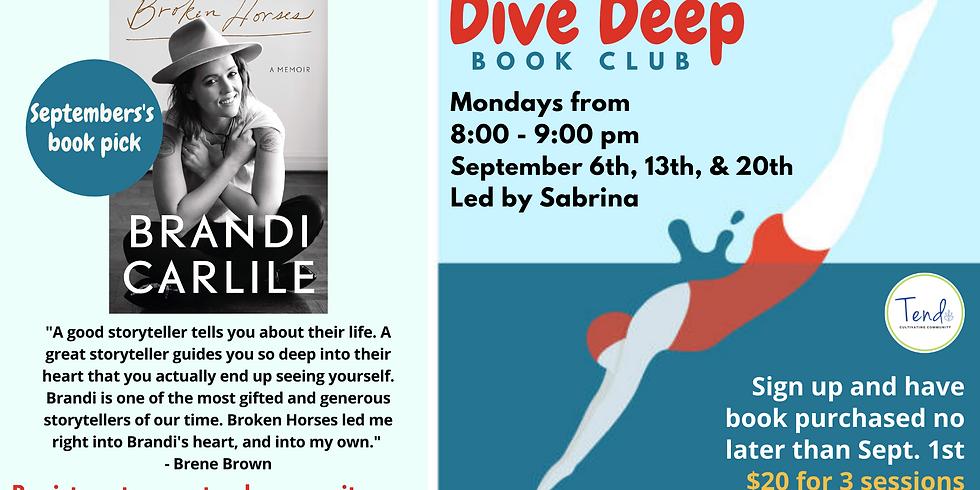 Deep Dive Book Club (Sept)