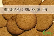 Saint Hildegard von Bingen Cookies of Joy Quantum Viriditas