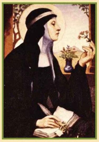 St Hildegard von Bingen Quantum Viriditas Therapeutic Massage Therapy Grapevine TX