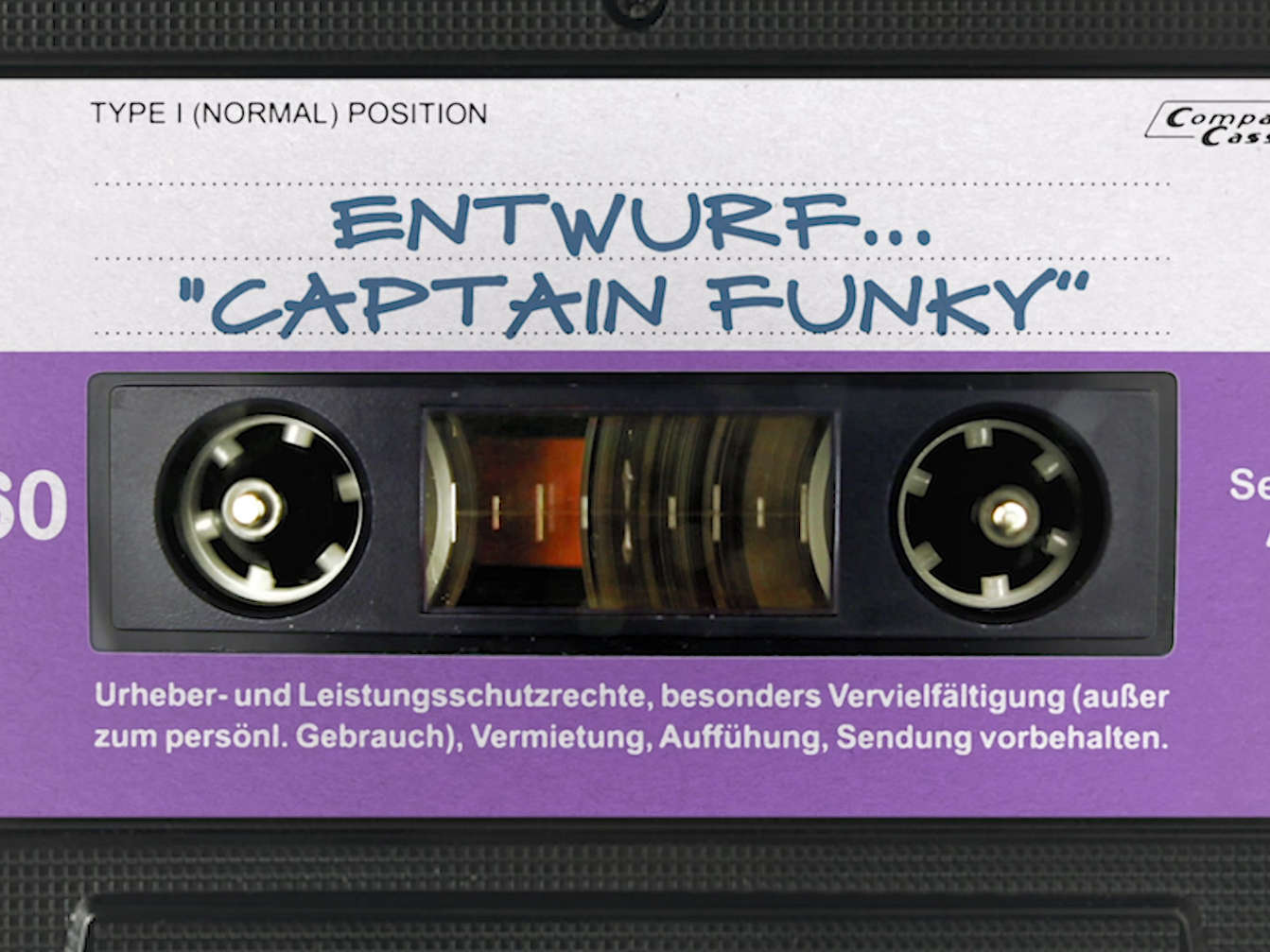 "Entwurf: Musik ""Captain Funky"""
