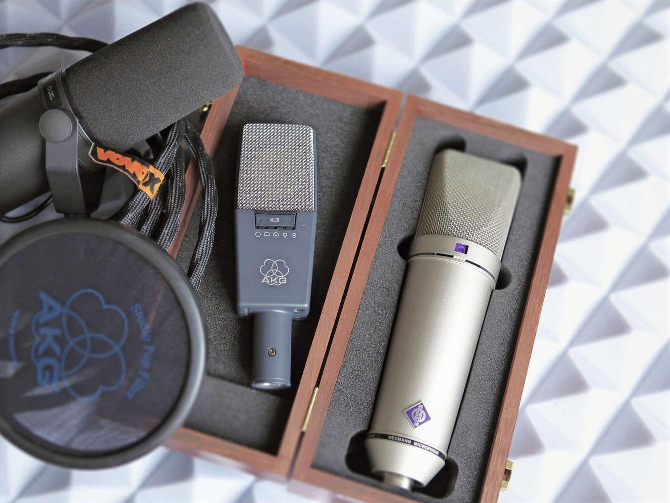Sprachaufnahmen: Mikrofonauswahl