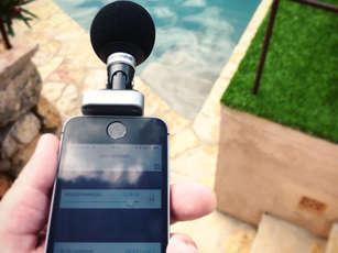 Mobiler Mikrofonaufsatz: Shure MV88