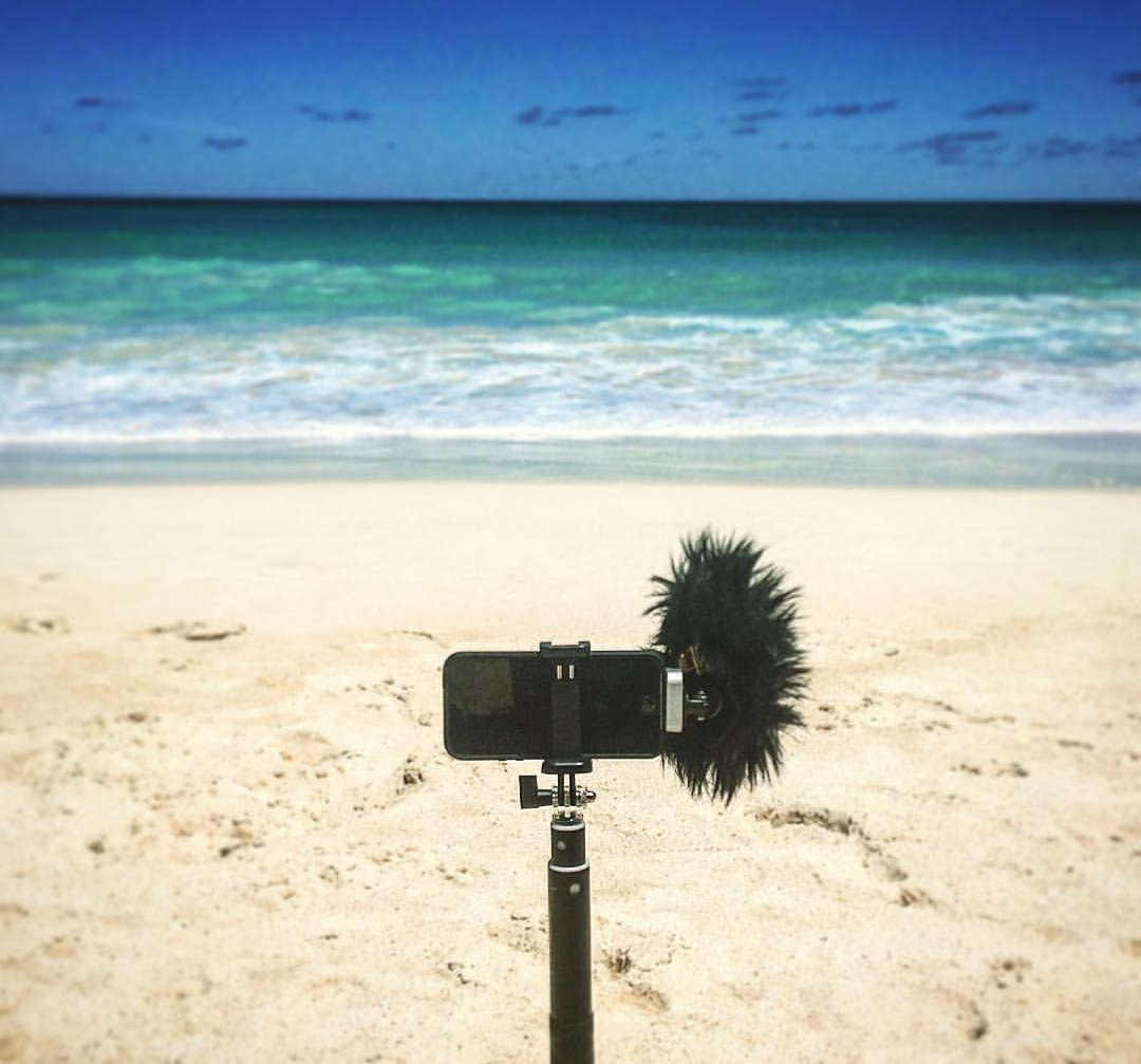 Fieldrecording/SFX: Waimanalo Beach