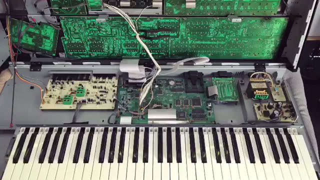 DIY: Keybed Restauration, Roland JD800
