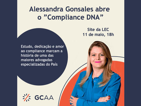 """Alessandra Gonsales abre o """"Compliance DNA"""""""