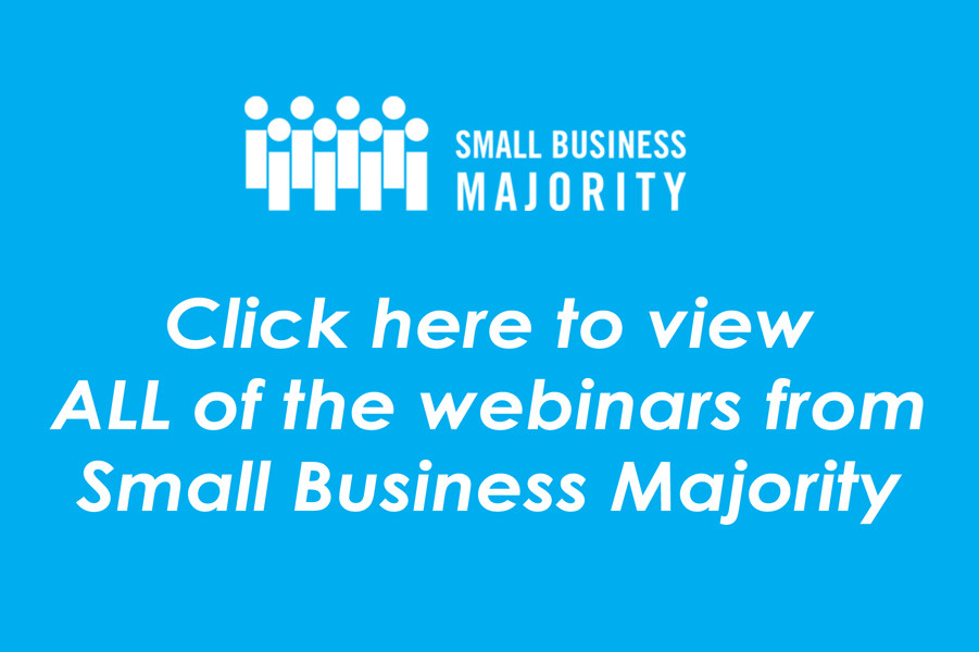 Click here to view ALL webinars from Small Business Majority