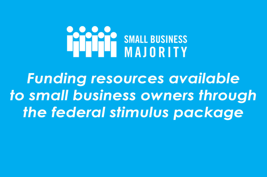 Funding resources available to small business owners through the federal stimulus package