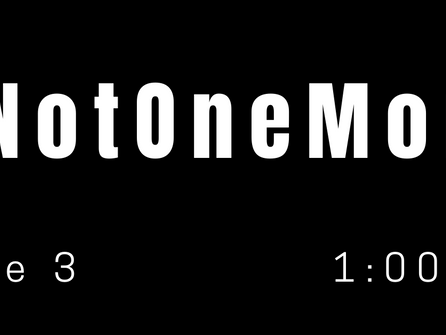 The Alameda Business Association asks that you join us in participating in #NotOneMore