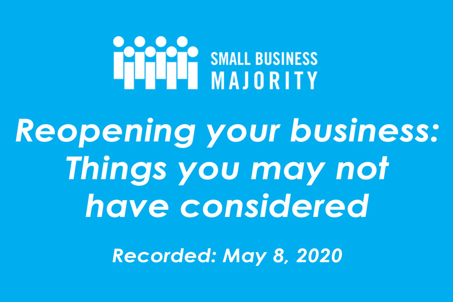 Reopening your business: Things you may not have considered