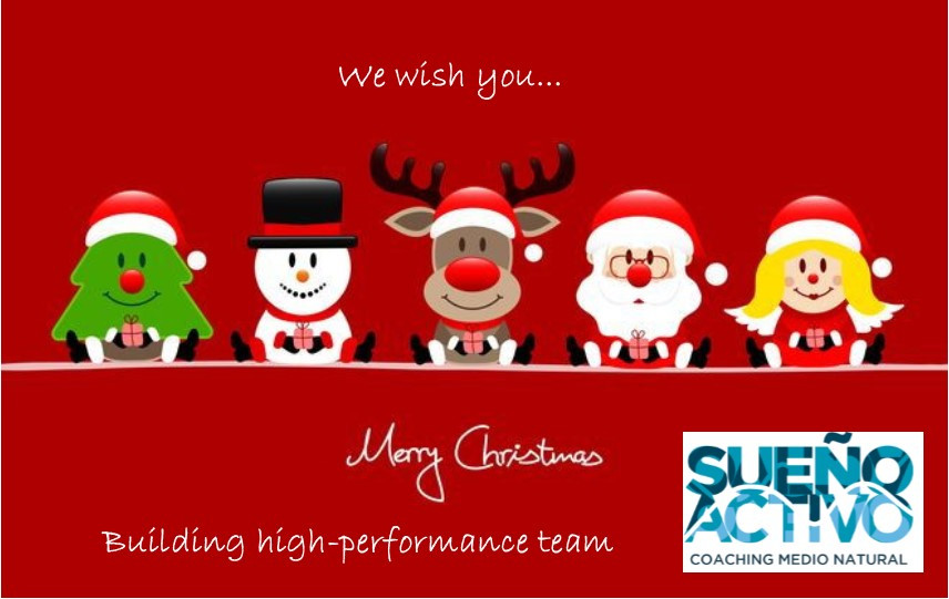Merry Christmas Building high-performance team