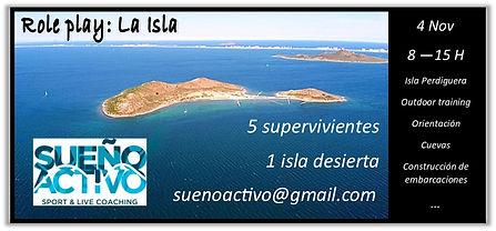 Role play: La Isla. Desarrollo personal