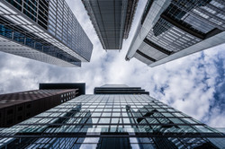 worms-eye-view-of-high-rise-building-364