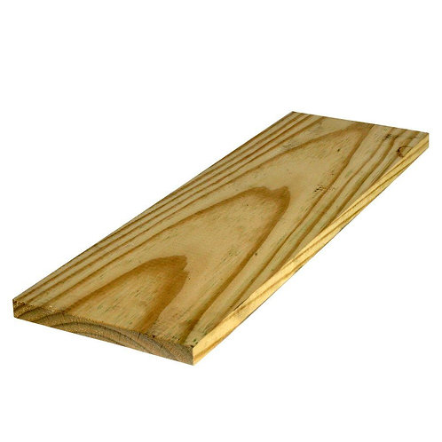 1 in. x 8 in. x 8 ft. Pressure-Treated Board