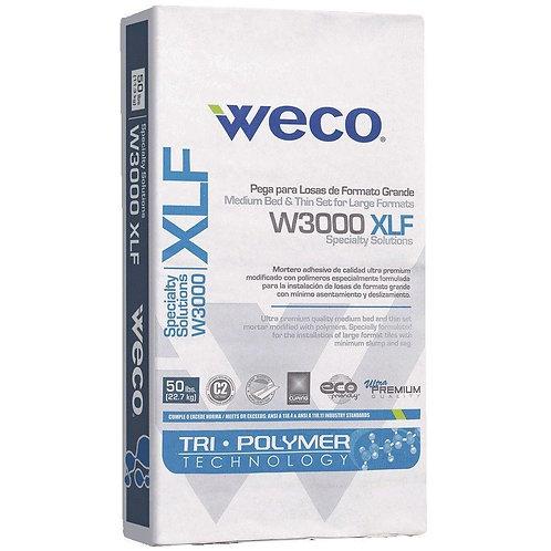 WECO W3000XLF 50 lb. White Large Format Mortar