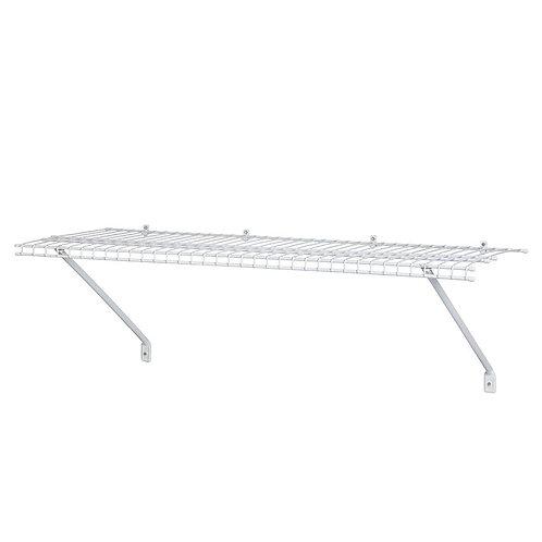 ClosetMaid 12 in. D x 48 in. W x 12 in. H Ventilated Wire Closet System Shelf Ki