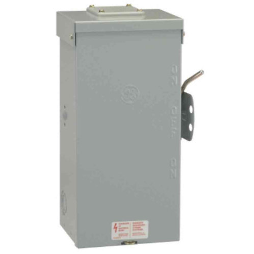 GE 100 Amp 240-Volt Non-Fused Emergency Power Transfer Switch