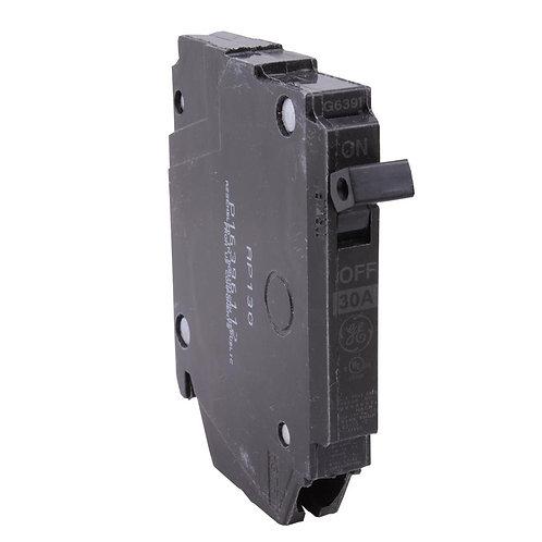 GE Q-Line 30 Amp 1/2 in. Single-Pole Circuit Breaker