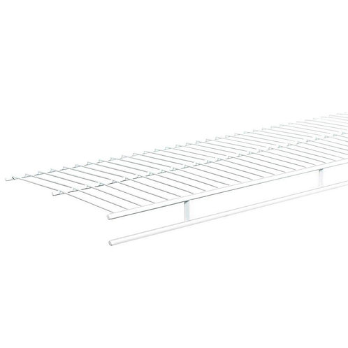 Shelf and Rod 6 ft. x 12 in. Ventilated Wire Shelf