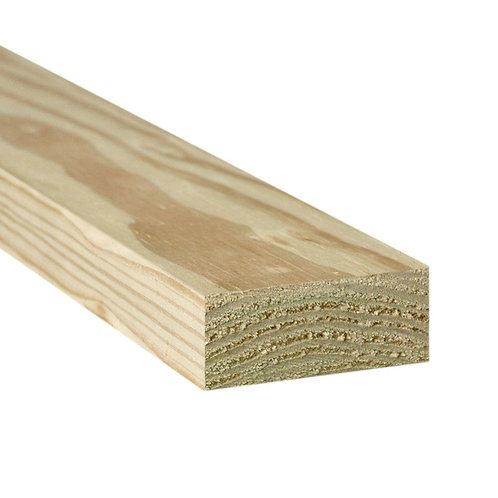 2 in. x 4 in. x 8 ft. Hon Run Pressure-Treated Lumber