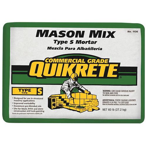 Quikrete 60 lb. Type S Mason Mix