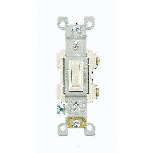 Leviton 15 Amp Preferred Switch, White