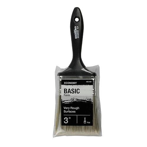 UTILITY 3 in. Flat Cut Utility Paint Brush
