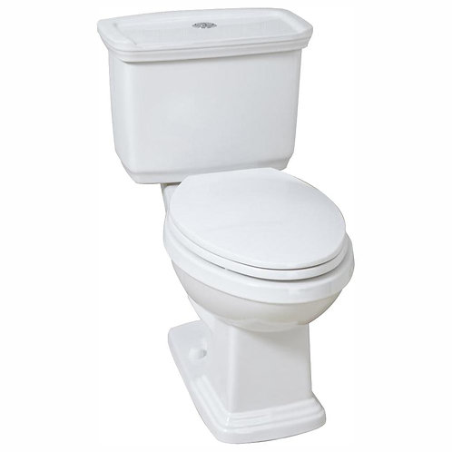 Glacier Bay 2-piece 1.0 GPF/1.28 GPF High Efficiency Dual Flush Elongated Toilet
