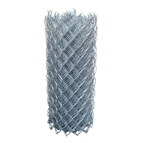 6 ft. x 1.5 ft. 12.5-Gauge Chain Link Fabric Cyclone Fence