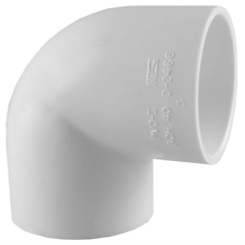 3/4 in. x 1/2 in. PVC Sch. 40 90-Degree S x S Reducing Elbow