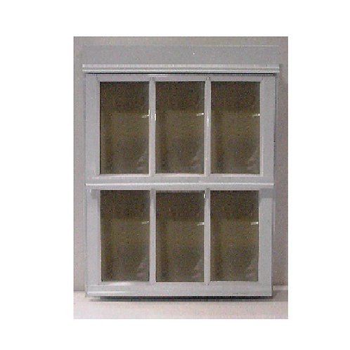 24 in. x 20.125 in. S-9 French Louver Awning Aluminum Window