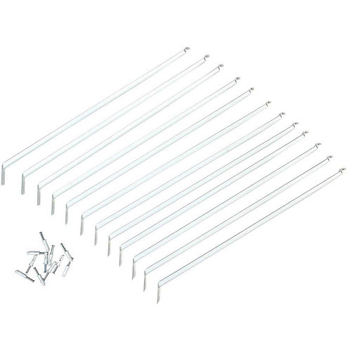 ClosetMaid 16 in. Shelving Support Bracket (12-Pack)