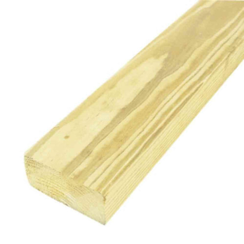 2 in. x 4 in. x 10 ft. #2 Prime Pressure-Treated Lumber