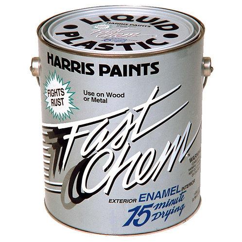 Harris Fast Chem 1 gal. Gloss Oil-Based Black Paint
