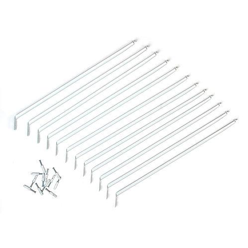 12 in. Shelving Support Bracket (12-Pack)