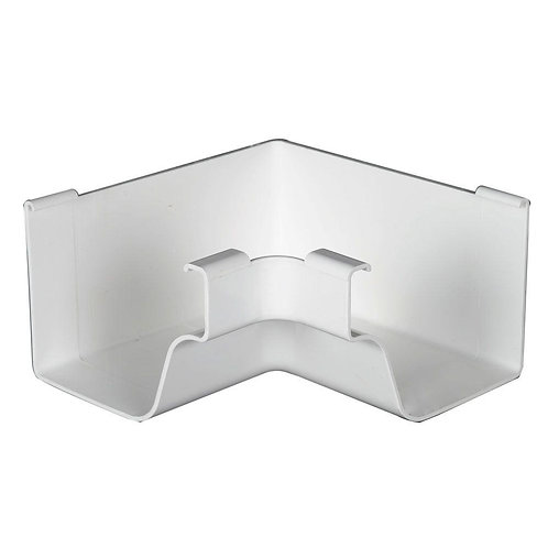 White Vinyl K-Style Inside Mitre