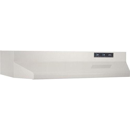 Broan 42000 Series 24 in. Under Cabinet Range Hood with Light in Bisque
